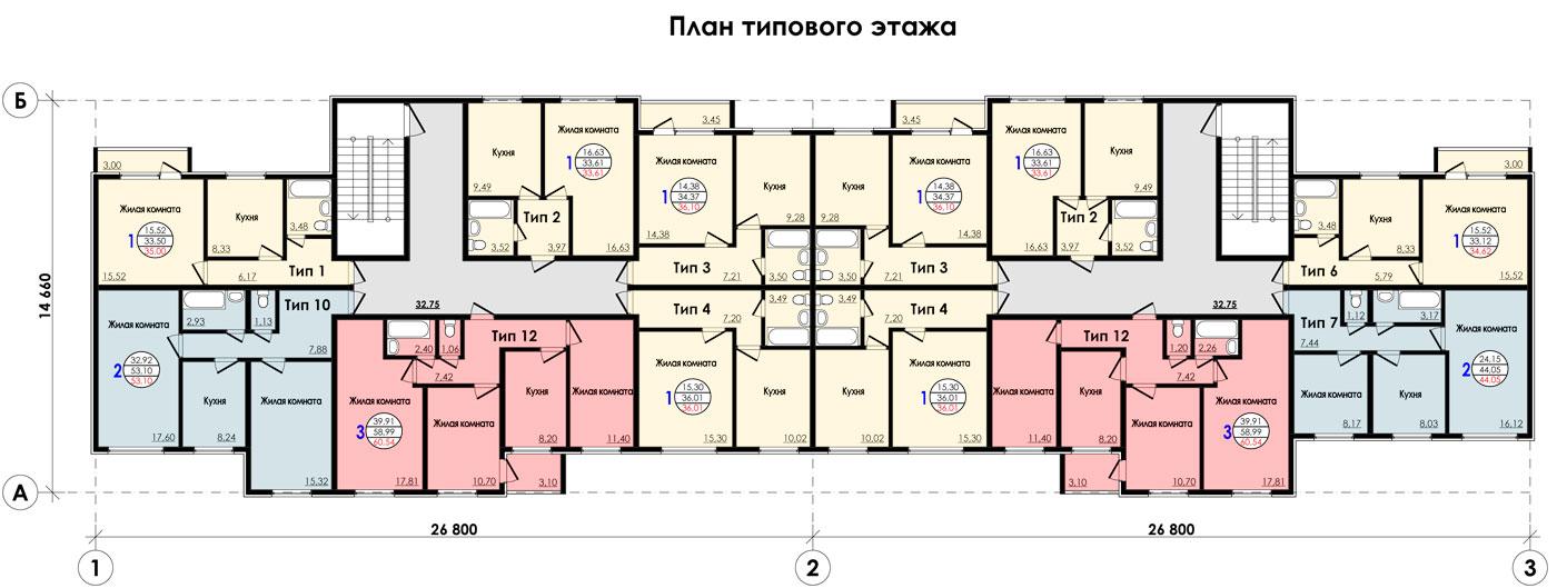 Многоквартирных проекты домов