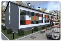 Проект многоквартирного дома Т-187