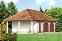 Проект гаража - 7 (56,94 кв.м.)