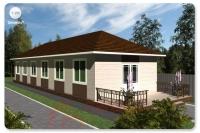 Проект Т-195 (Гостевой дом) S-92,84 кв.м.