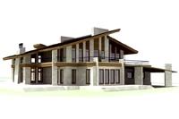 Проект коттеджа (Arhitronika) S-780 кв.м.