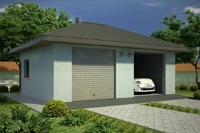 Проект гаража - 2 (48 кв.м.)