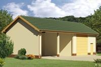Проект гаража - 5 (71,4 кв.м.)