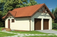 Проект гаража - 6 (81,7 кв.м.)