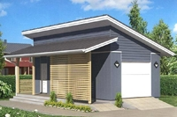 Проект гаража - 3 (67,7 кв.м.)