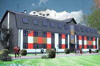 Проект гостиницы на 1500 кв.м.