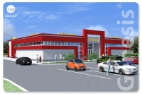Проект торгового комплекса Т-224