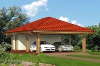 Проект гаража - 9 (84,9 кв.м.)
